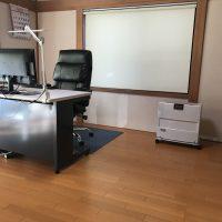 大掃除後の事務所風景